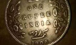One Ruppe India Coin