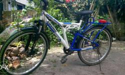 One year old Bicycle with disc brake & Shock Absorber