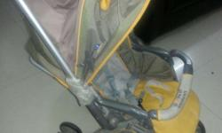 A year old mom and mee pram. original price 8000. Asked