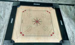 Only 6 months old carom board with very good condition.