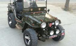 We modify jeeps on order in Haryana state. Check