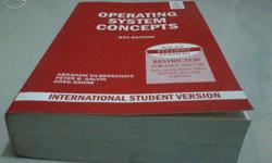 1) Operating System Concept Texbook, by Abraham