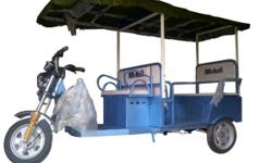 ECO FRIENDLY ELECTRIC TRICYCLE/ BATTERY RICKSHAW