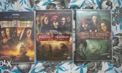 Original DVDs of popular Hollywood movie series in