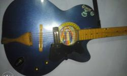 Orignal used Grason guitar with new strings Pickup
