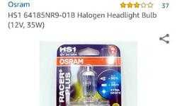 super bright Osram (Germany) Night Racer Plus head