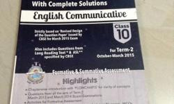 Oswal question bank for English core.in good condition