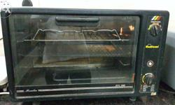 Sunflame oven toaster griller. Very good heating and