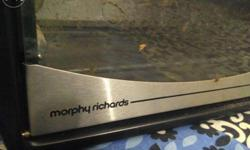 Morphy richards OTG, bought in 2013, hardly ever used