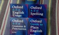 Oxford A-Z Of English Usage Books