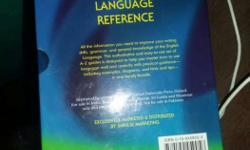 Oxford English Language Reference Book not used fresh
