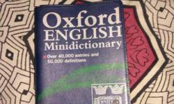 Oxford English Minidictionary Book