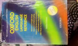 OXFORD english reference (5 books)