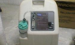 INVACARE MODEL NAME TYPE: OXYGEN CONCENTRATOR RUNNING