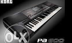 New PA 600 Keyboard 6 months warranty remaining