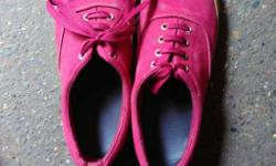 Pair Of Pink Sneakers