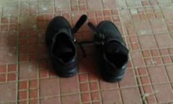 Pair Of Black shoes size-7(boy's)