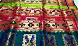 Paithani single Saree price For options ping on