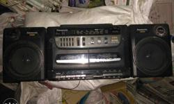 Panasonic Stereo with FM, prize fixed. (nine four four