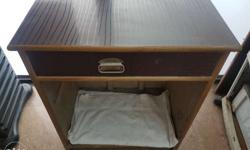 Parlour Wodden Drawer table for cash (Till) Length 26""