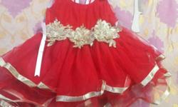 party wear dress for girl age 6 month to one wear old