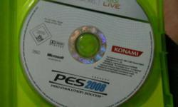 PES 2008 for sale xbox 360... condition pretty new.