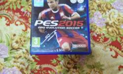 PES 2015 PS4 Game Case