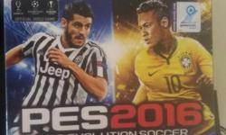 PES 2016 xbox one.. day one edition..opened once.. new