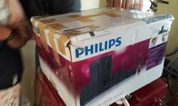 Philips 5.1 multimedia home theater system just 18