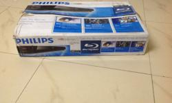 Brand new Philips Blue Ray DVD Player. Seal opened to