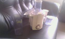 Philips juicer powerful, rarely used, like new piece,