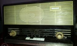 Philips valve radio good sound quality working