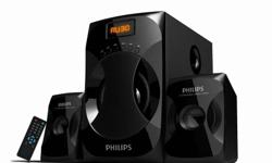 Phillips 2.1 speaker, works perfectly, 1.5 years old,