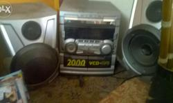 Tri cd and two cassette player available at cheap price