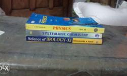 Physics, Chemistry & Biology for Class 11