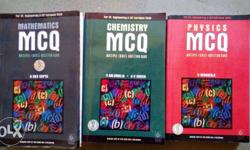 Physics,Chemistry,Maths MCQ Book for IIT and