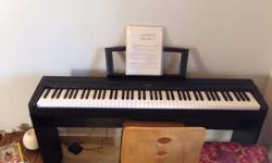 Yamaha P35 piano, almost NEW! Includes piano stand,