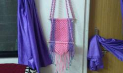 Pink And Blue Hanging Decor