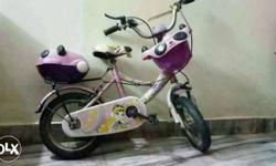Pink barbie cycle 6 months old.. Avon company...