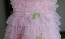 Pink Party Frock (3-5 years)