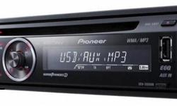 PIONEER CAR MP3 PLAYER ( MADE IN JAPPAN) WITH