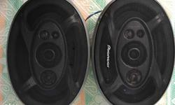 "Pioneer car speakers (2 pieces) 6""x9"" 5way 460w"