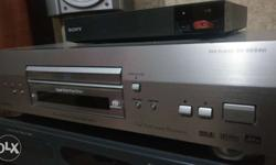 pioneer super audio cd , dvd player. mint condition