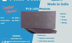 Pixel Tech P10 LED Module Red Green White Blue Amber