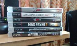 i have 6 ps3 games , i'm selling my cds in a