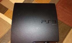 Sony Play Station 3 Slim Good Condition with One