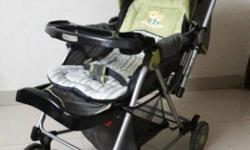 Polly's pet baby stroller- used hardly 2-3 times.