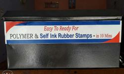 polymar rubber stamp machine rs:7000/- ready for