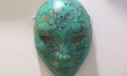 Porcelain Handpainted Venetian Mask from Venice 6