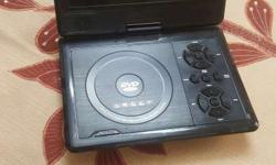 Portable dvd player for sale with tv out . HD sound